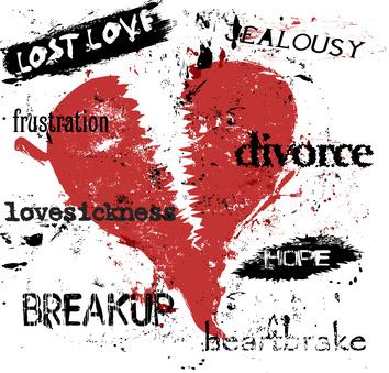 Hiding after Heartbreak?