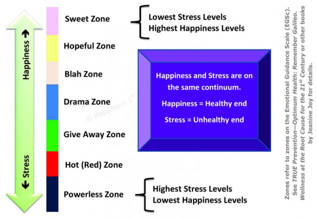 Happiness and Stress Continuum