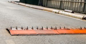 Road spikes prevention