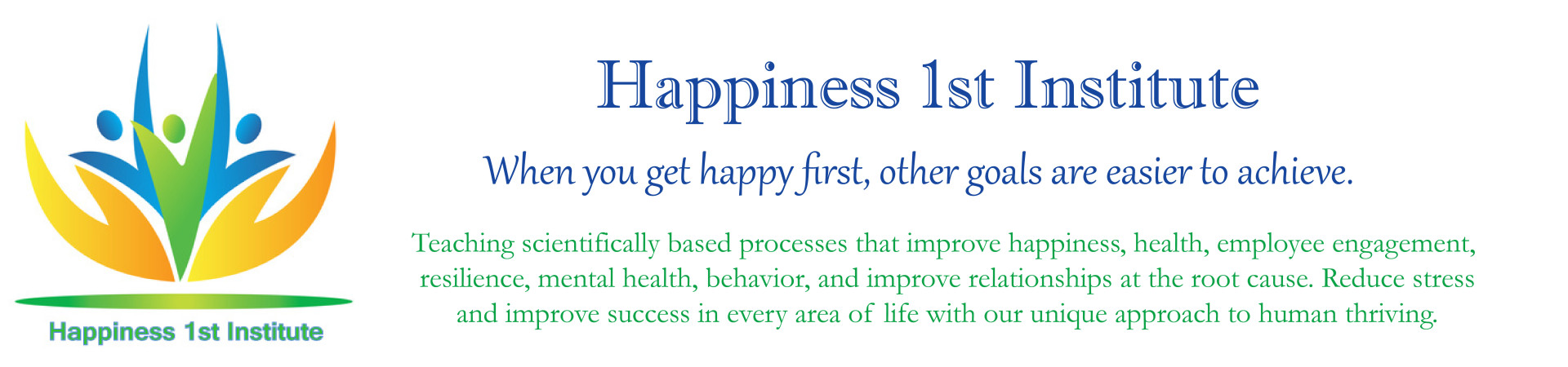 Happiness 1st Institute