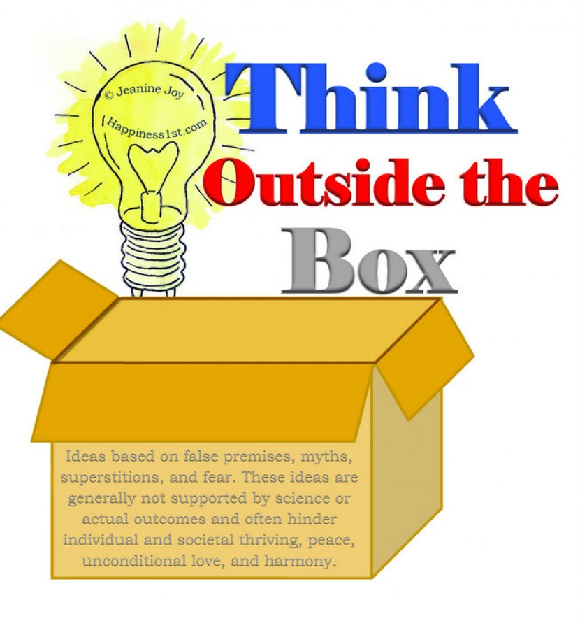 Thinking Outside the Box A Misguided Idea The truth behind the universal but flawed catchphrase for creativity Posted Feb 06 2014